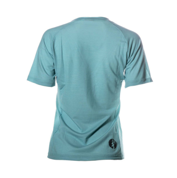 Napali Merino Performance T-Shirt Woman turquoise/black