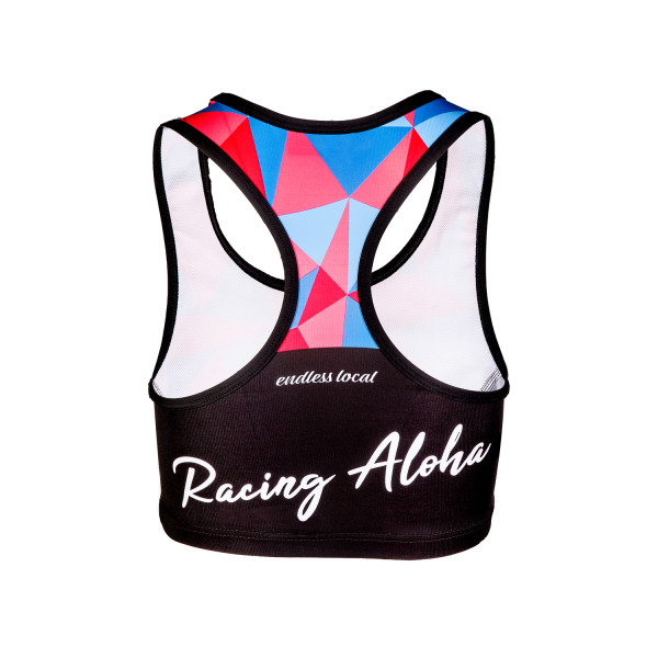 Racing Aloha Top black/pink
